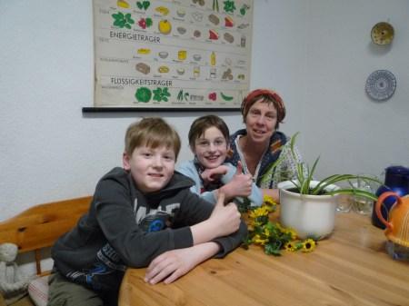 Garten AG mit Maria Gmind