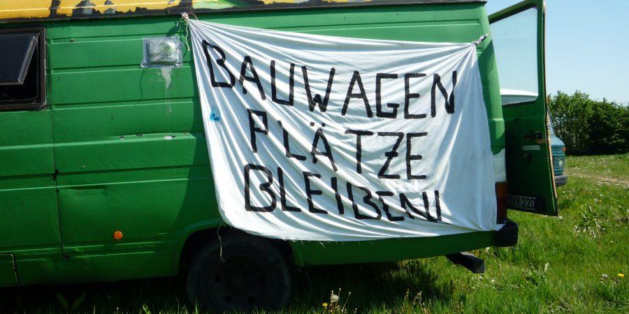 Wagengruppe sucht Platz in Kiel