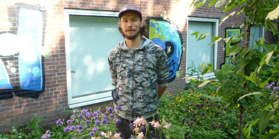 Mathias Semling im Waldgarten