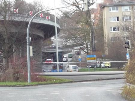 Kiels meist befahrene Straße