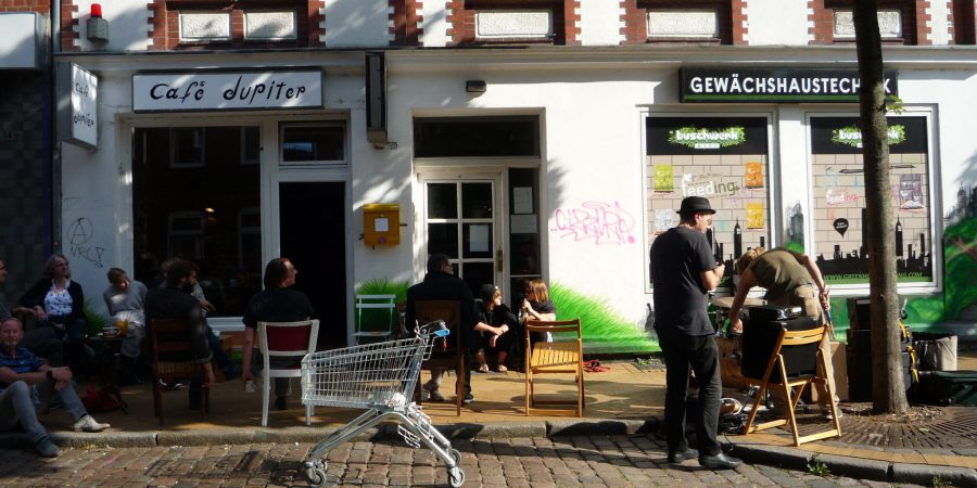 Café Jupiter in Kiel