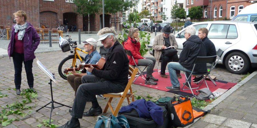 Park(ing) Day in Kiel