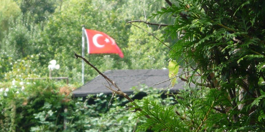türkischer Kleingarten in Kiel