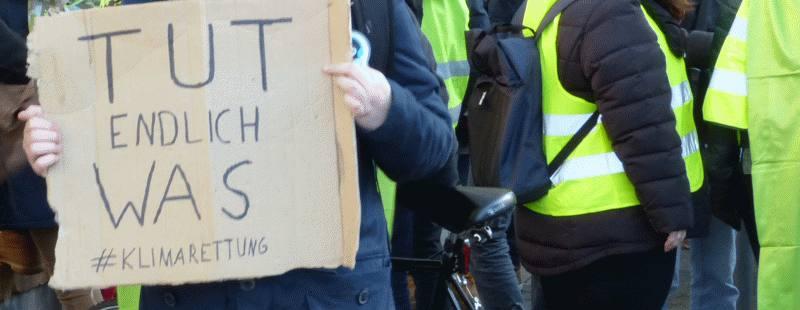 Demo in Kiel für Klimarettung