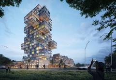 Hochhaus von MVRDV
