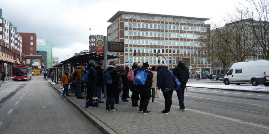 Bushaltestelle Sophienhof