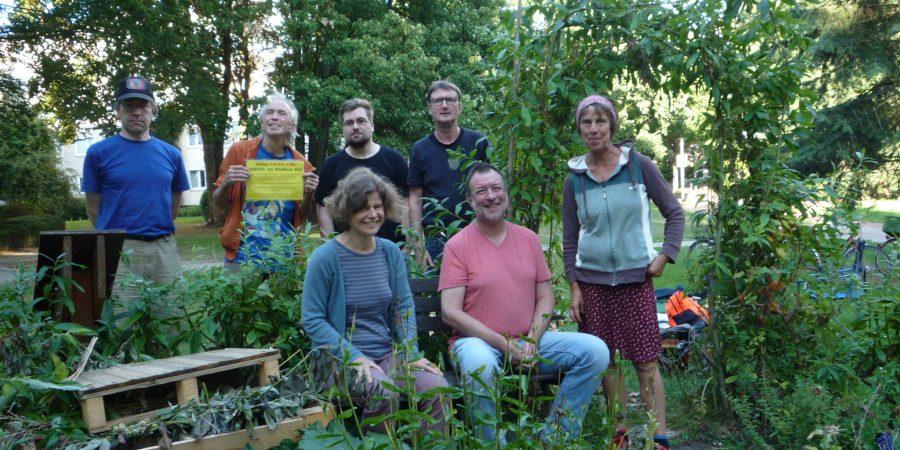 Rundbeet ist ein Urban-Gardening-Projekt