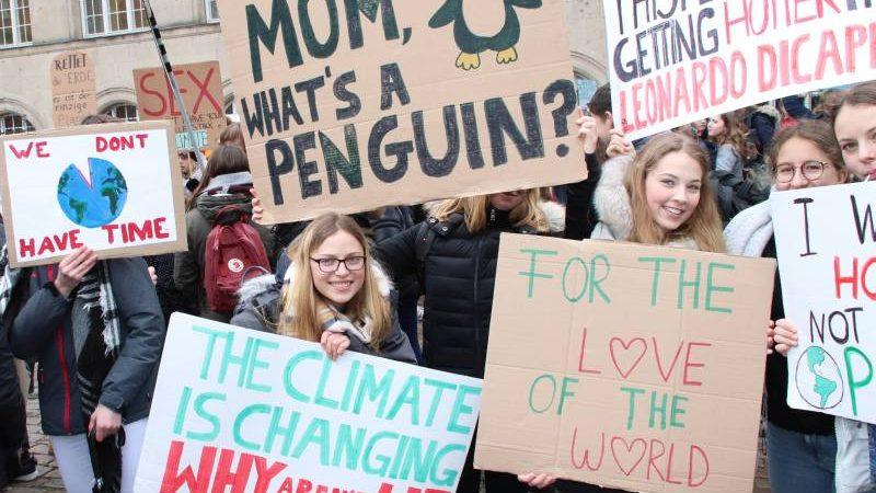 15. März Freitags-Demo für Klimaschutz