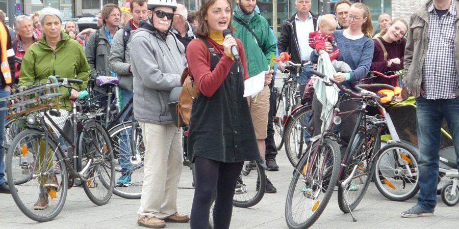 Sprecherin von Fridays for Future in Kiel