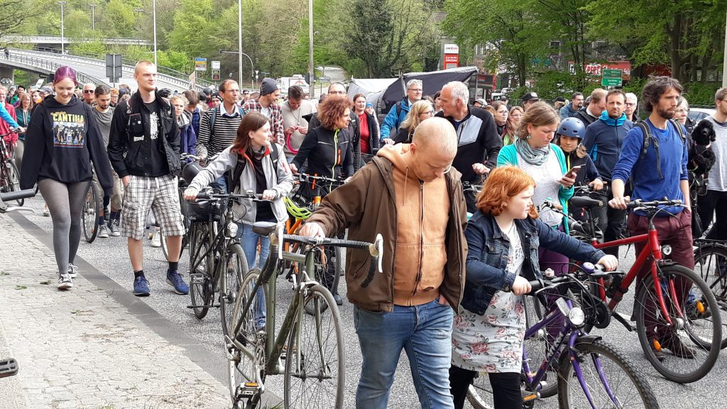 Straßenparty auf dem Theodor-Heuss-ring