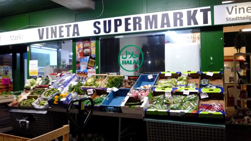 Vineta Supermarkt in Kiel