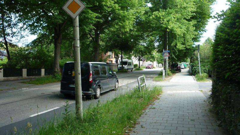 Kreuzung Wehden Weg und Passader Straße