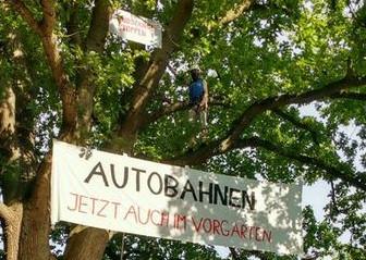 Protest gegen A21