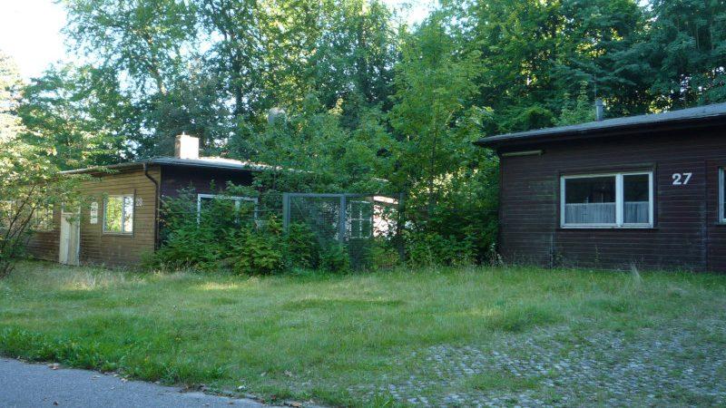 Leerstehende Häuser auf dem MFG-5-Gelände