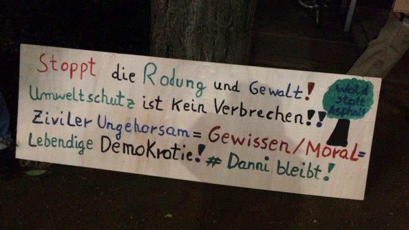 Kieler solidarisch mit Danni