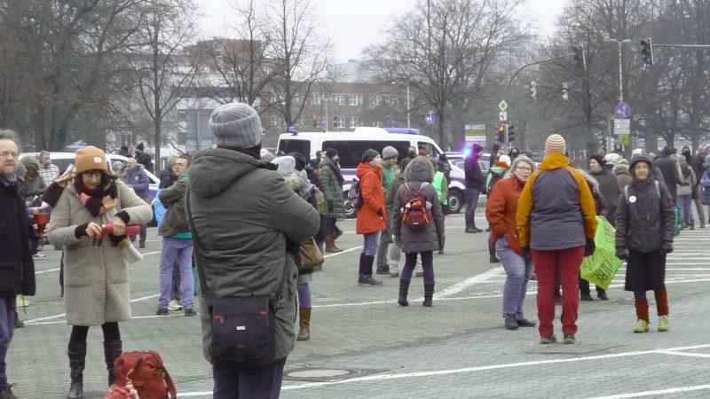 Corona-Skeptiker in Kiel