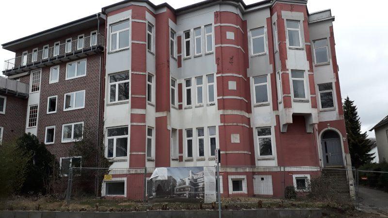 Wird dieses Haus abgerissen?