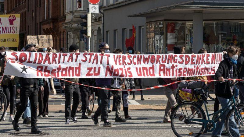 Antifa-Demo Kiel