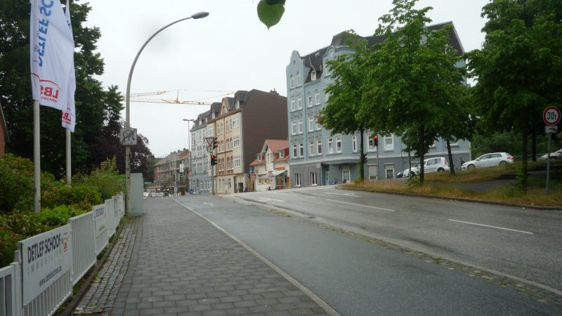 Knotenpunkt Wulfsbrook, Winterbeker Weg und Rendsburger Landstraße