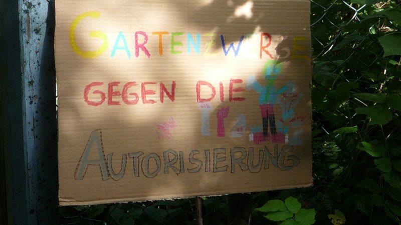 Bedrohtes Kleingartenparadies