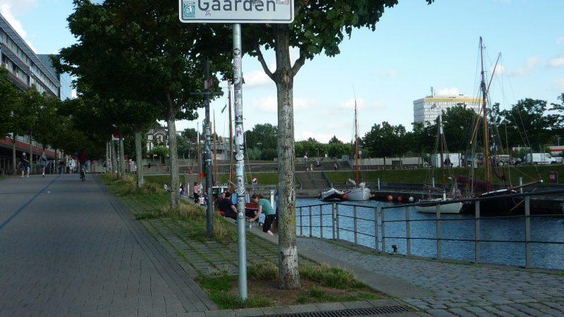 Germaniahafen vom Westen gesehen