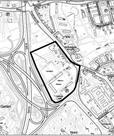 Aufstellungsbeschluss Holsteinstadion